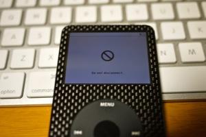 iPod HDD交換